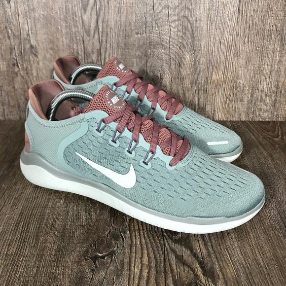 Nike Free Run 2018 'Mica Green' Women's Size 10 NWT